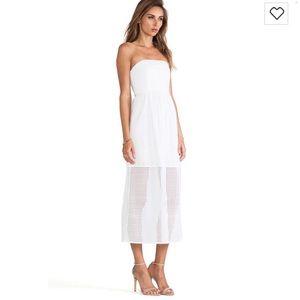 Tibi Kat Eyelet Dress